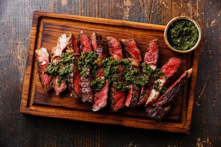 Steak s chimichurri