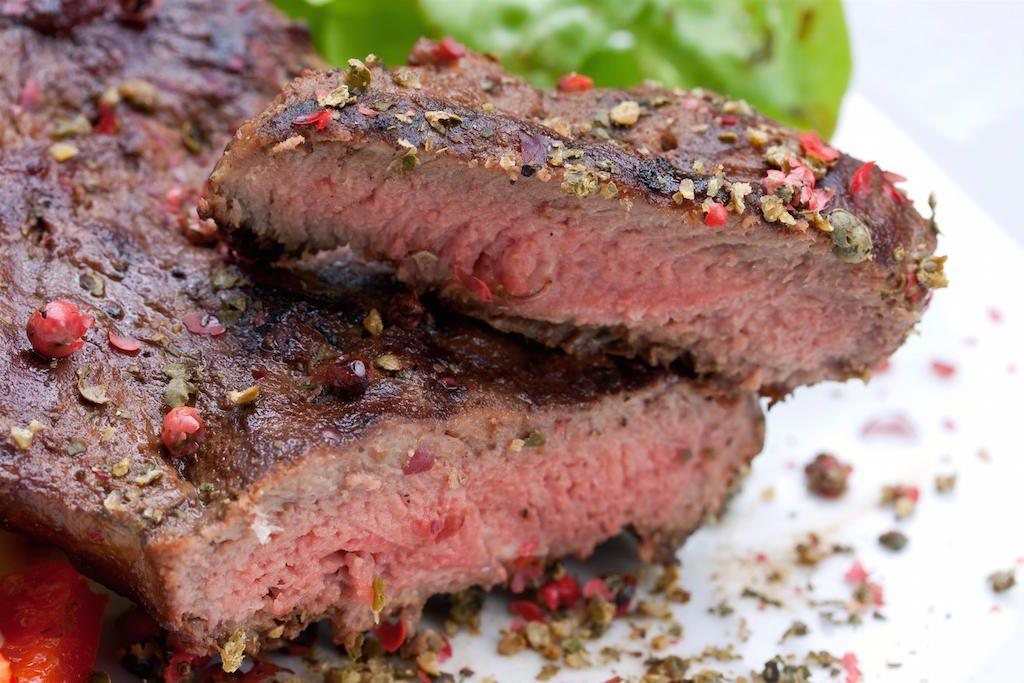 Sous Vide - steak z roštěnce s křenovým krémem