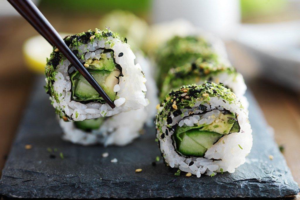Zeleninové sushi: Z kterých druhů můžete vybírat?
