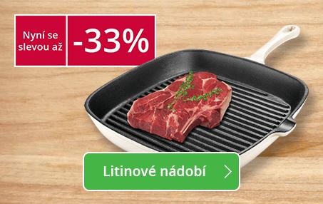 MEGA AKCE: Litinové nádobí se slevou až -33%