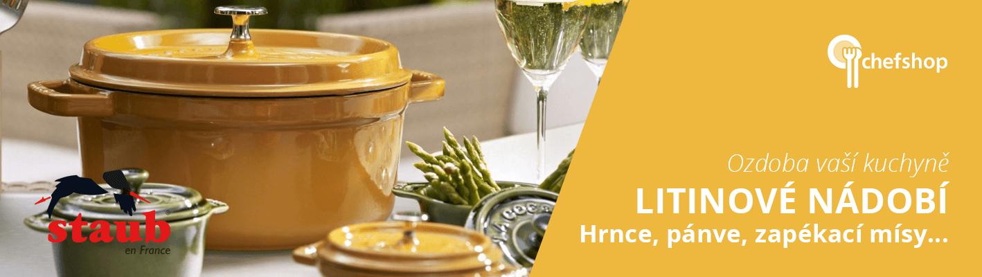 Litinové nádobí Staub
