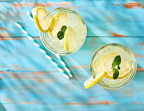 Recept na domácí limonádu