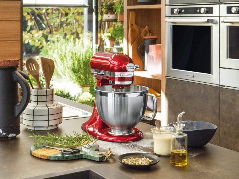 Kuchyňský robot KitchenAid Artisan MINI 5KSM3311 matná šedá