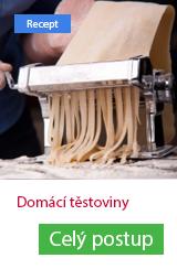 domácí těstoviny