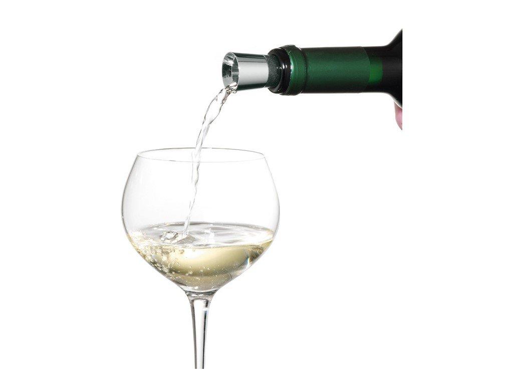 Nálevka na víno se zátkou Vino WMF