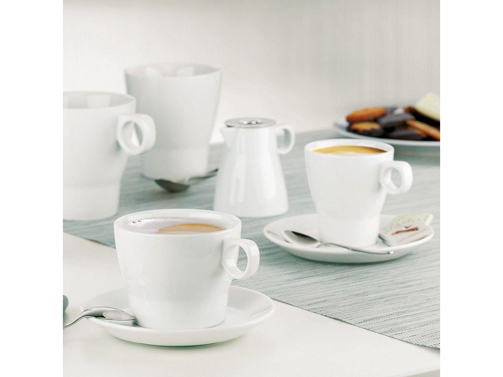 Caffé Latte šálek s podšálkem Barista WMF 225 ml