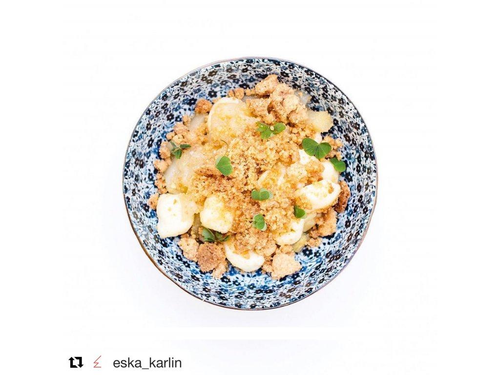 Velká mísa Blue Daisy 21,5 cm 1,3 l