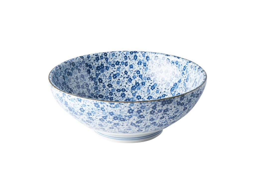 Velká miska Blue Daisy 21,5 cm