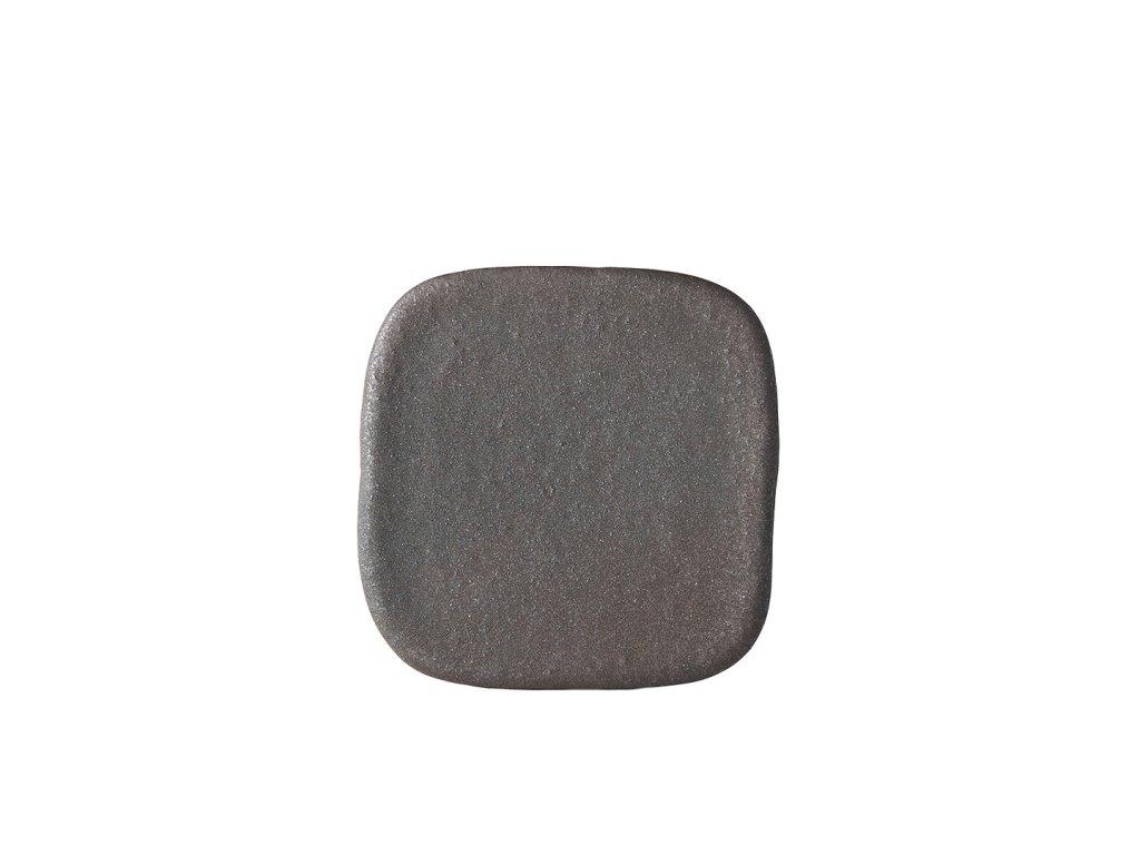 Čtvercová kamenná deska STONE SLAB 19 x 2 cm MIJ