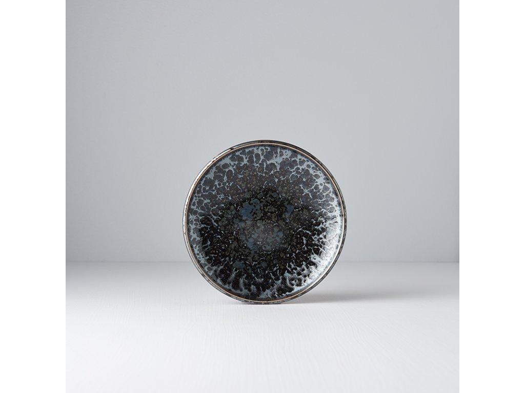 Mělký předkrmový talíř Black Pearl 17 cm MIJ