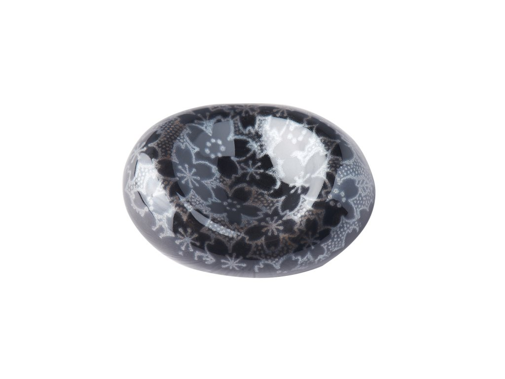 Oblázek na odložení jídelních hůlek Black Sakura