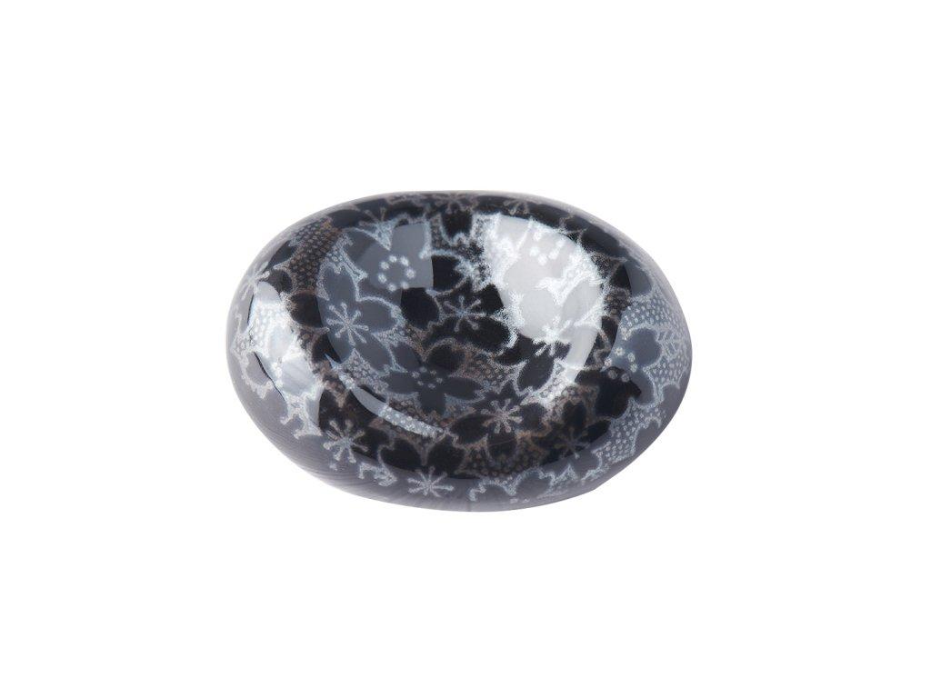 Oblázky na odložení hůlek Black Sakura