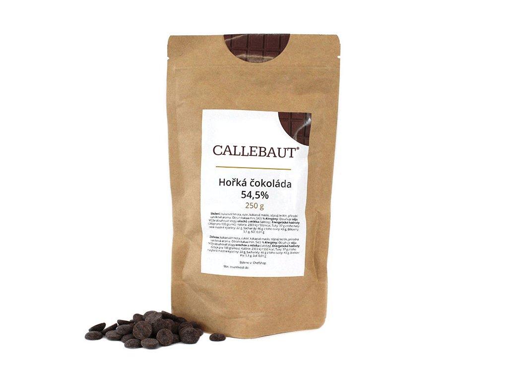 Hořká čokoláda Callebaut 54,5% 250 g