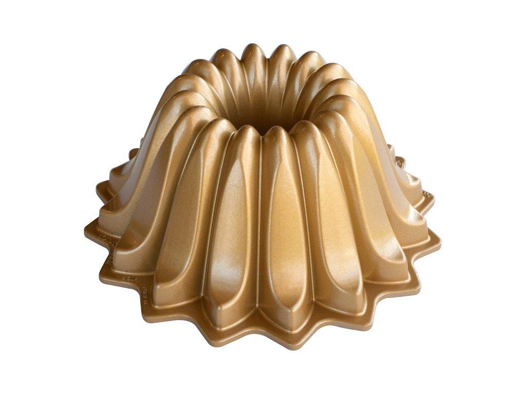 Malá forma na bábovku Lotus Bundt® zlatá Nordic Ware