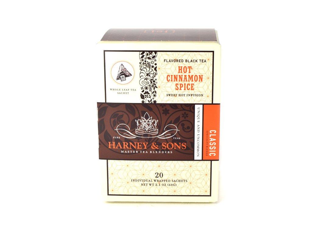 Čaj Hot Cinnamon Spice Harney & Sons 20 sáčků