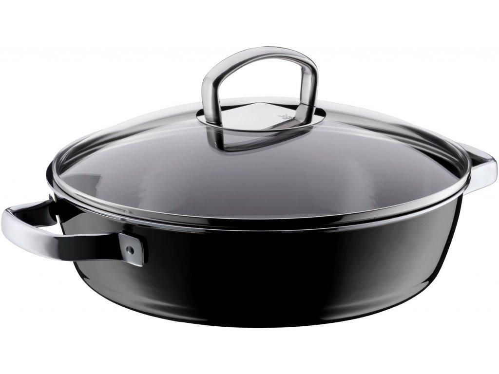 Servírovací pánev Ø 28 cm FUSIONTEC černá
