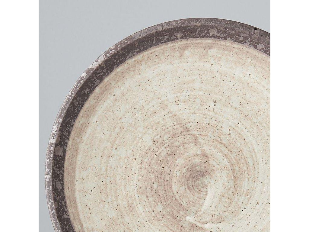 Mělký přílohový talíř Nin-Rin 20 cm MIJ