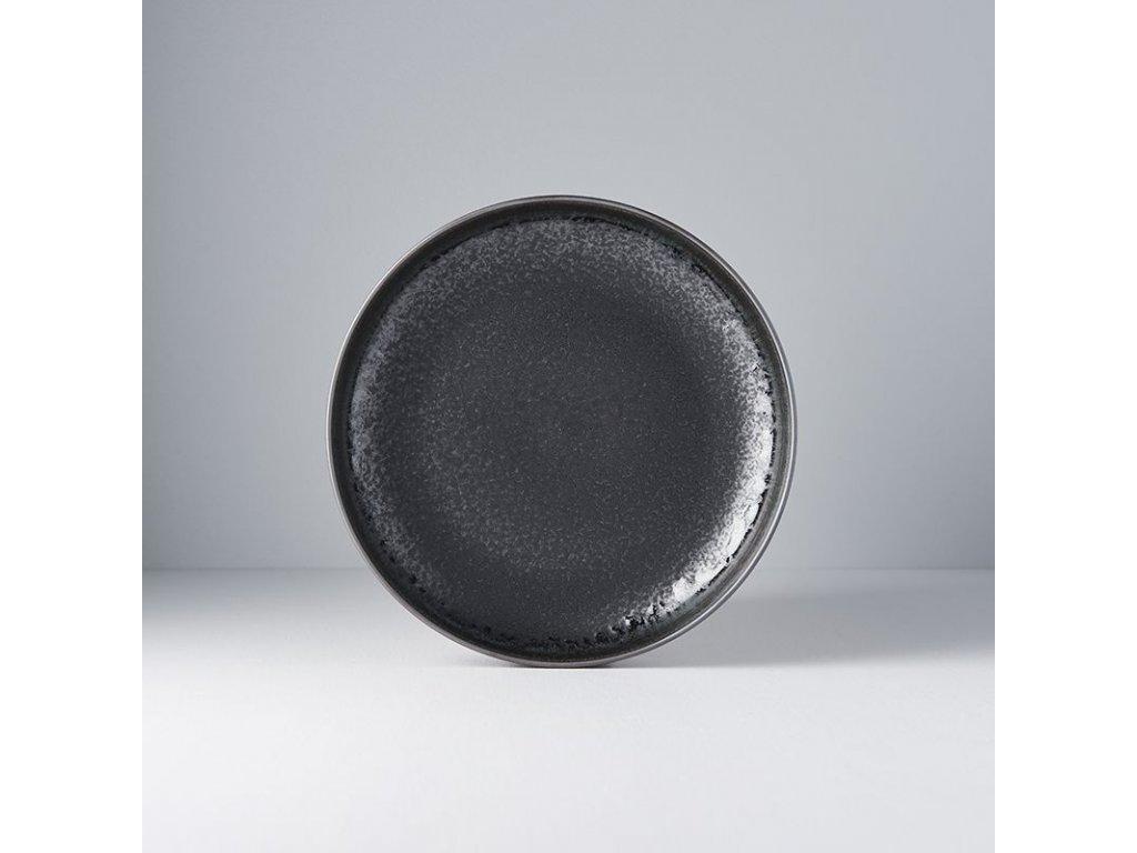 Mělký talíř s vysokým okrajem Matt 22 cm MIJ