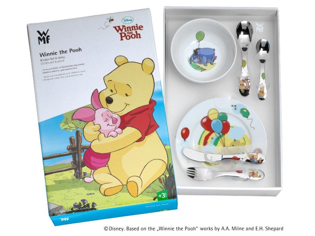 """Dětský jídelní set 6dílný """"Medvídek Pú"""" ©Disney"""
