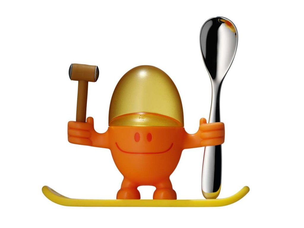"""Stojánek na vajíčka """"McEgg"""" oranžový"""