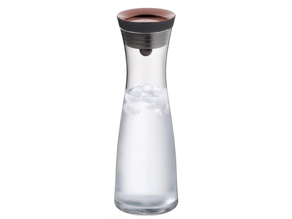 Karafa na vodu s měděným víčkem Basic 1,0 l