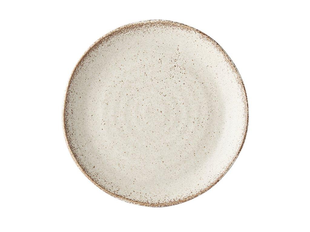 Mělký talíř Fade 24 cm pískový