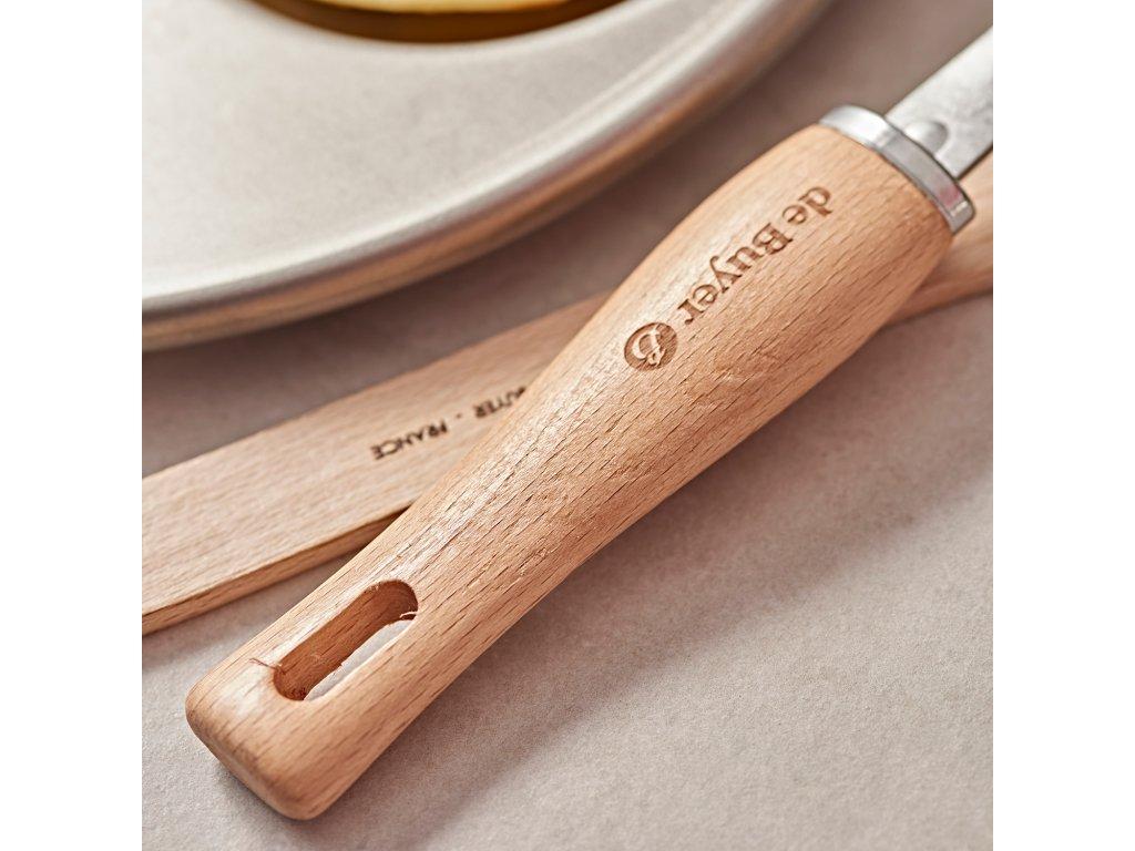 Nerezová naběračka na špagety de Buyer 33 cm