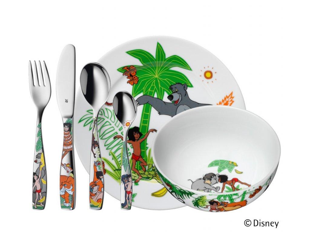 Dětský jídelní set Kniha džunglí WMF 6 ks