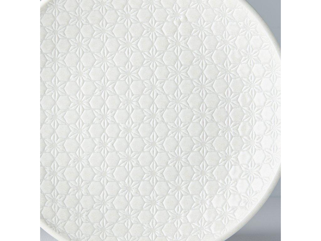 Mělký talíř White Star 25 cm