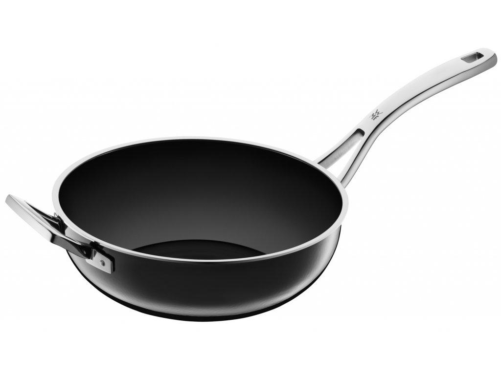 Pánev Wok Ø 28 cm FUSIONTEC černá