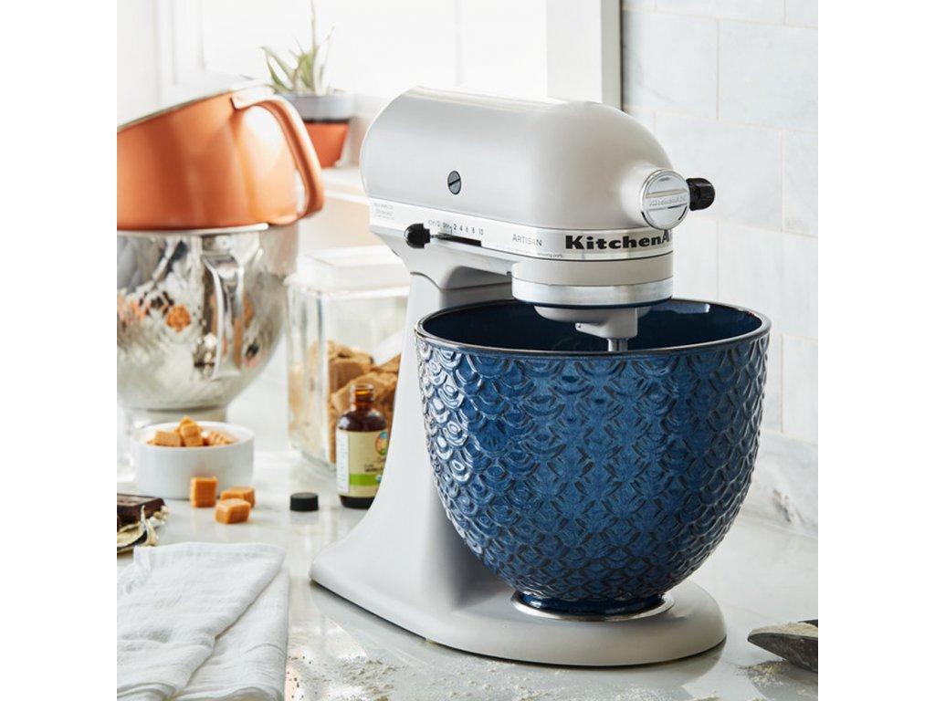 Keramická mísa KitchenAid 5KSM2CB 4,83 l tmavě modrá