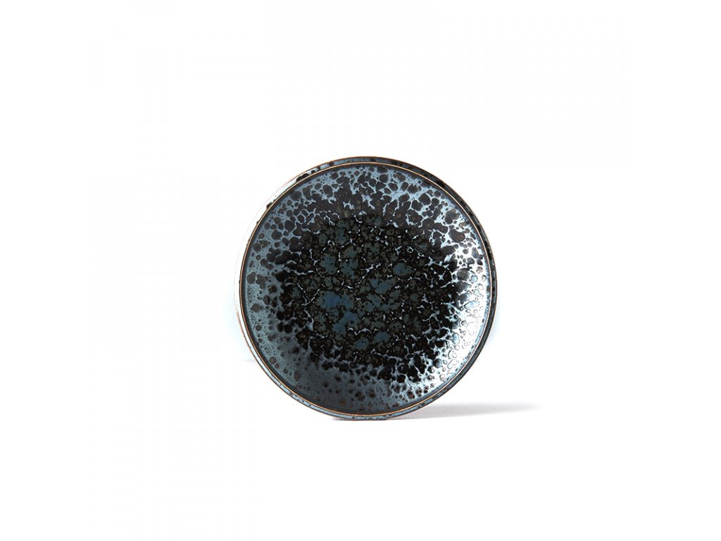 Mělký předkrmový talíř Black Pearl 20 cm