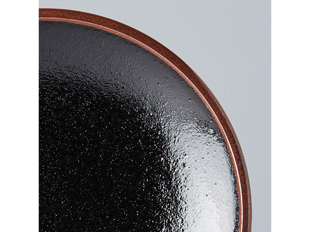 Předkrmový mělký talíř Tenmokku 20 cm MIJ