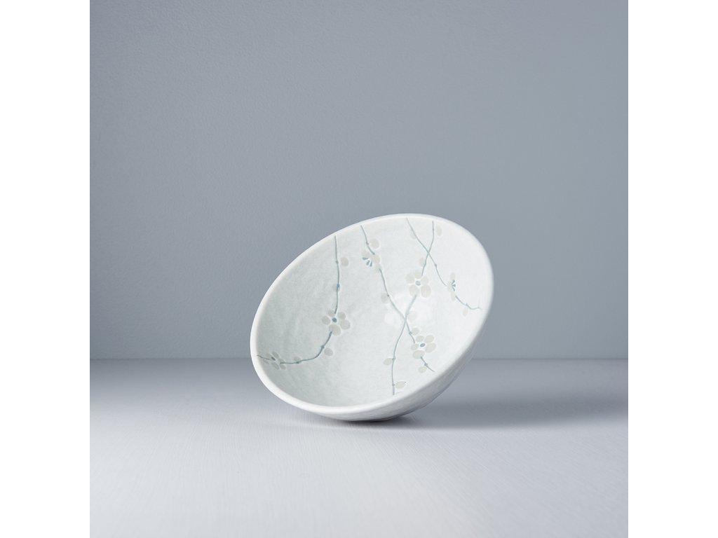 Udon miska White Blossom 20 cm 900 ml MIJ