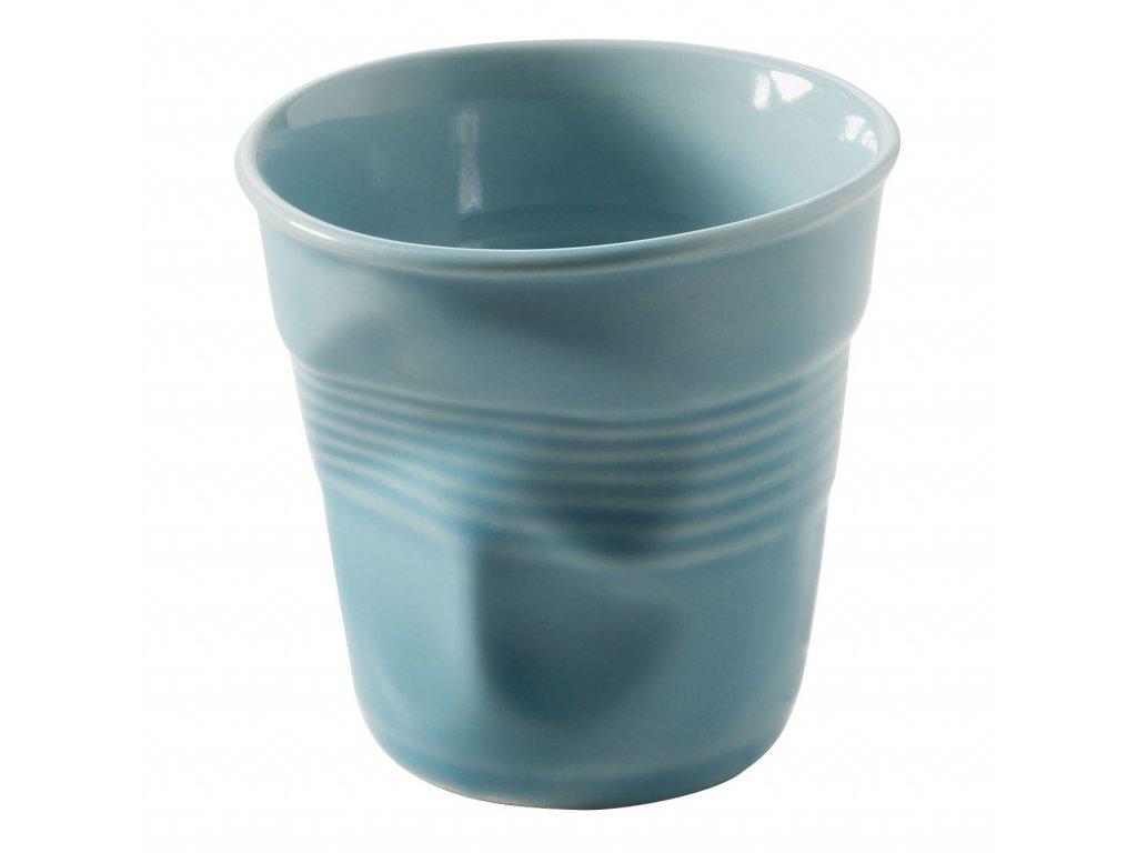 Kelímek na espresso 8 cl karibská modř Froissés REVOL