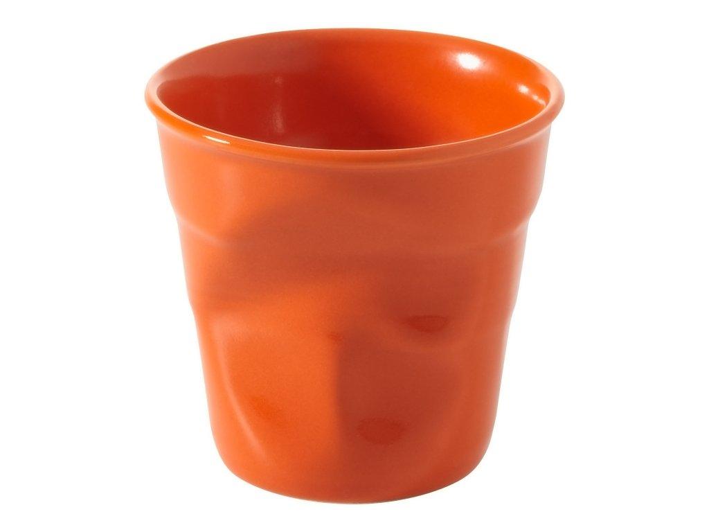 Kelímek na espresso 8 cl pomerančová Froissés REVOL