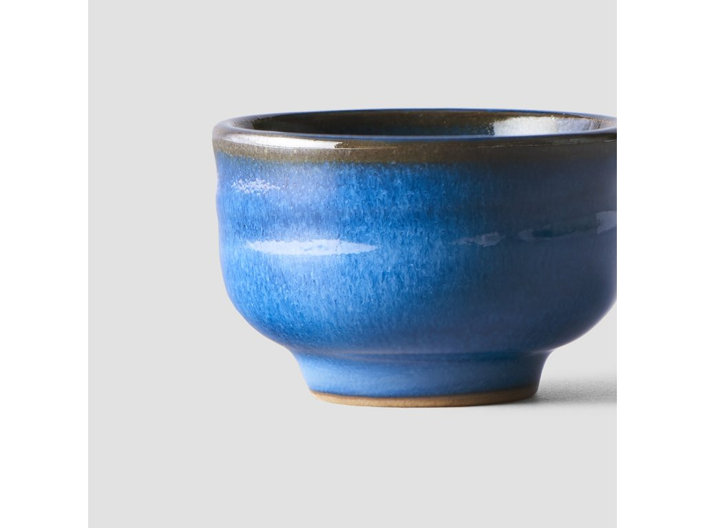 Miska na saké modrá 80 ml MIJ