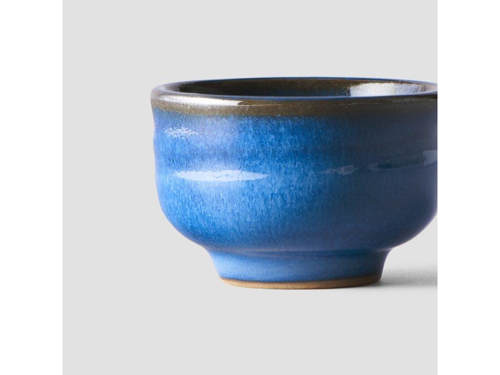 Miska na saké modrá 80 ml
