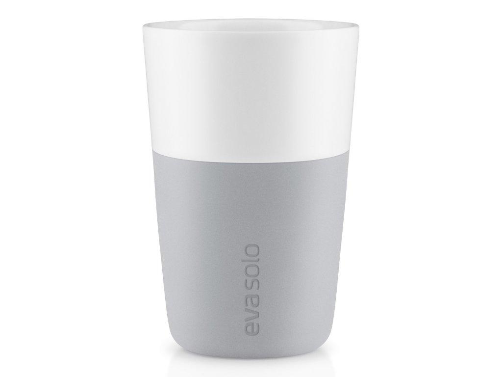 Termohrnky na café latte 360 ml 2 kusy světle šedé Eva Solo