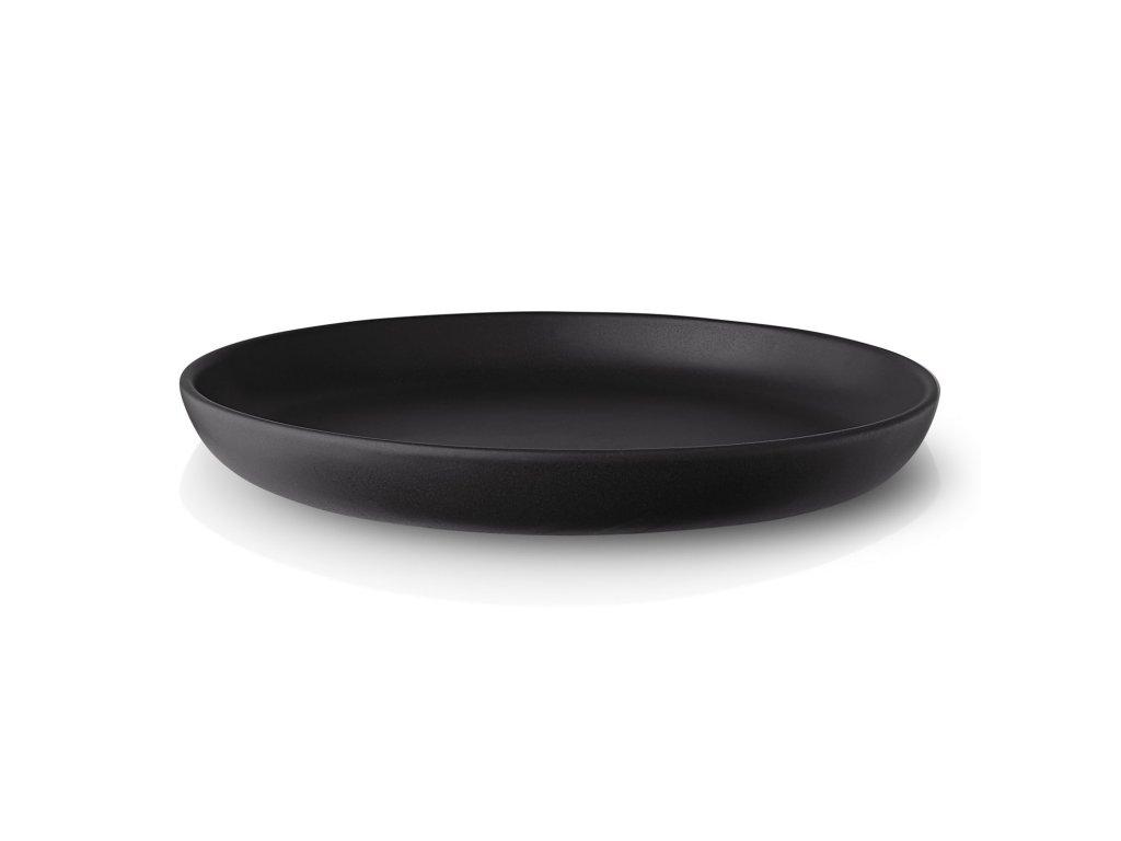Talíř dezertní Nordic kitchen O 17 cm černý
