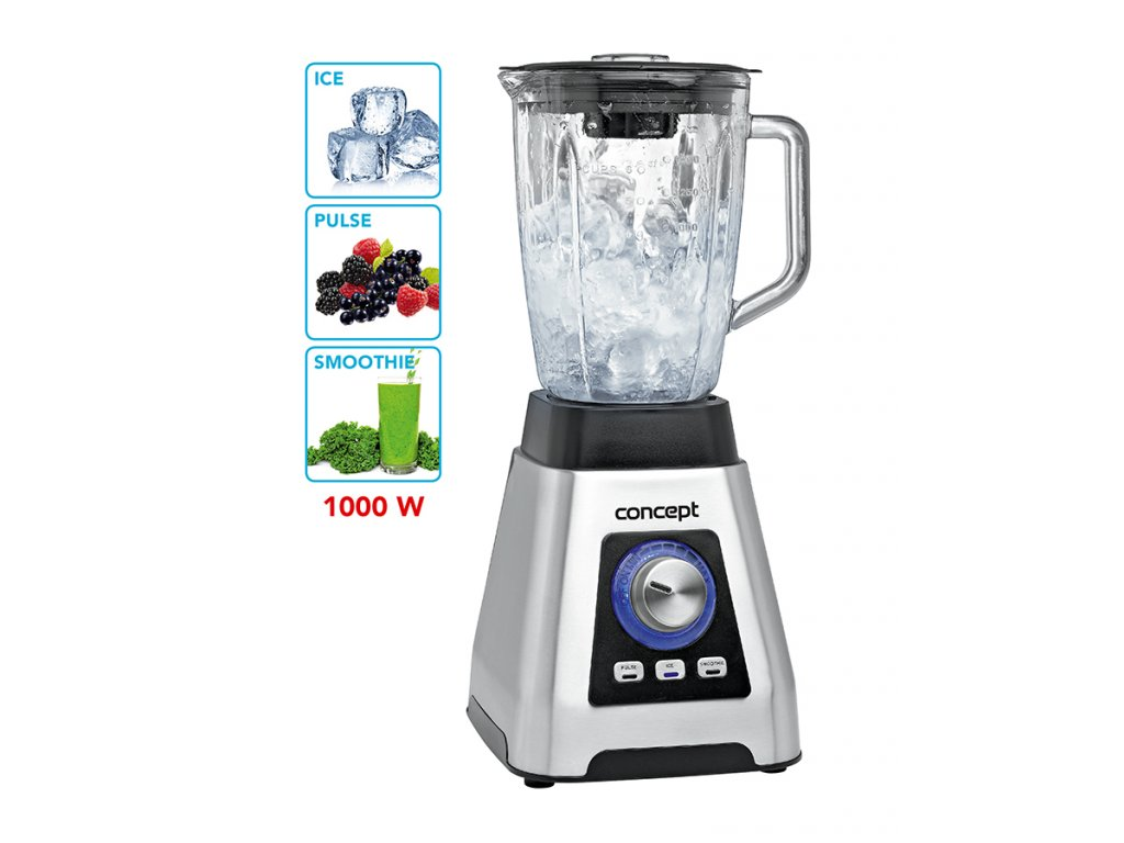 Smoothie mixér Perfect Ice Crush 1000 W Concept SM3410