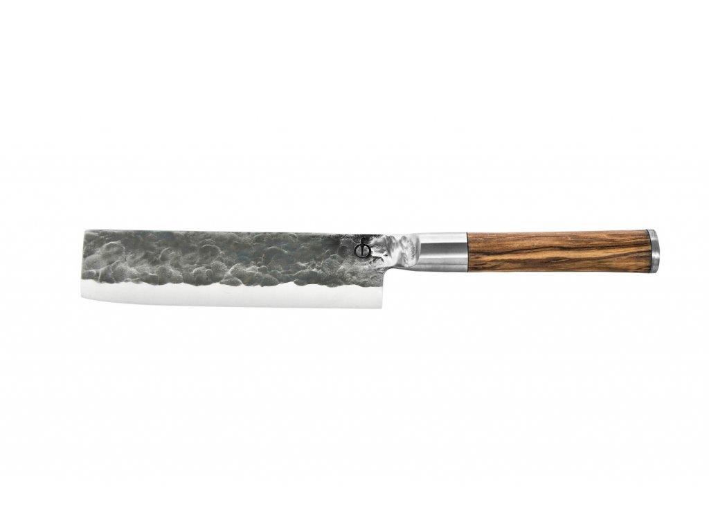 Japonský nůž na zeleninu Forged Olive 17,5 cm