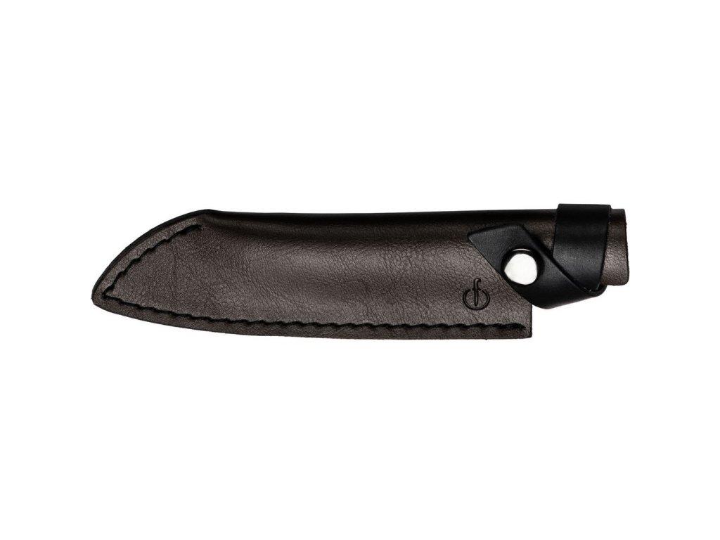 Kožené pouzdro na Santoku nůž 14 cm Forged Leather