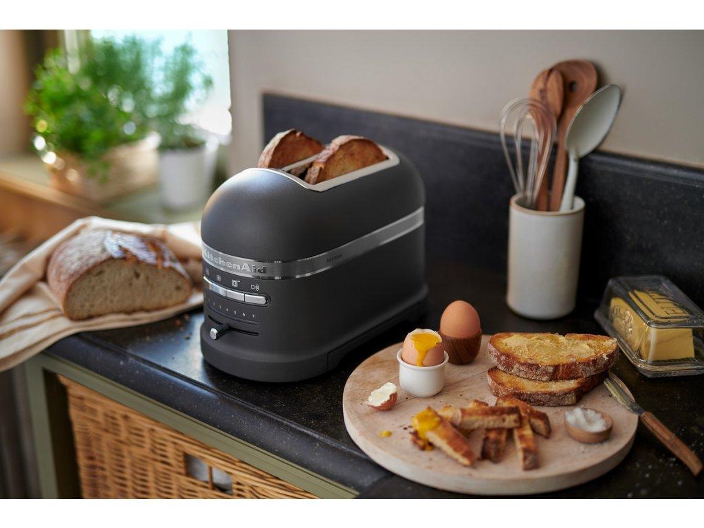 Topinkovač Artisan 5KMT2204 stříbřitě šedá