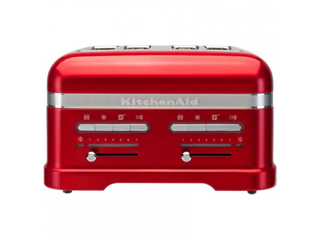 Topinkovač KitchenAid 5KMT4205 červená metalíza