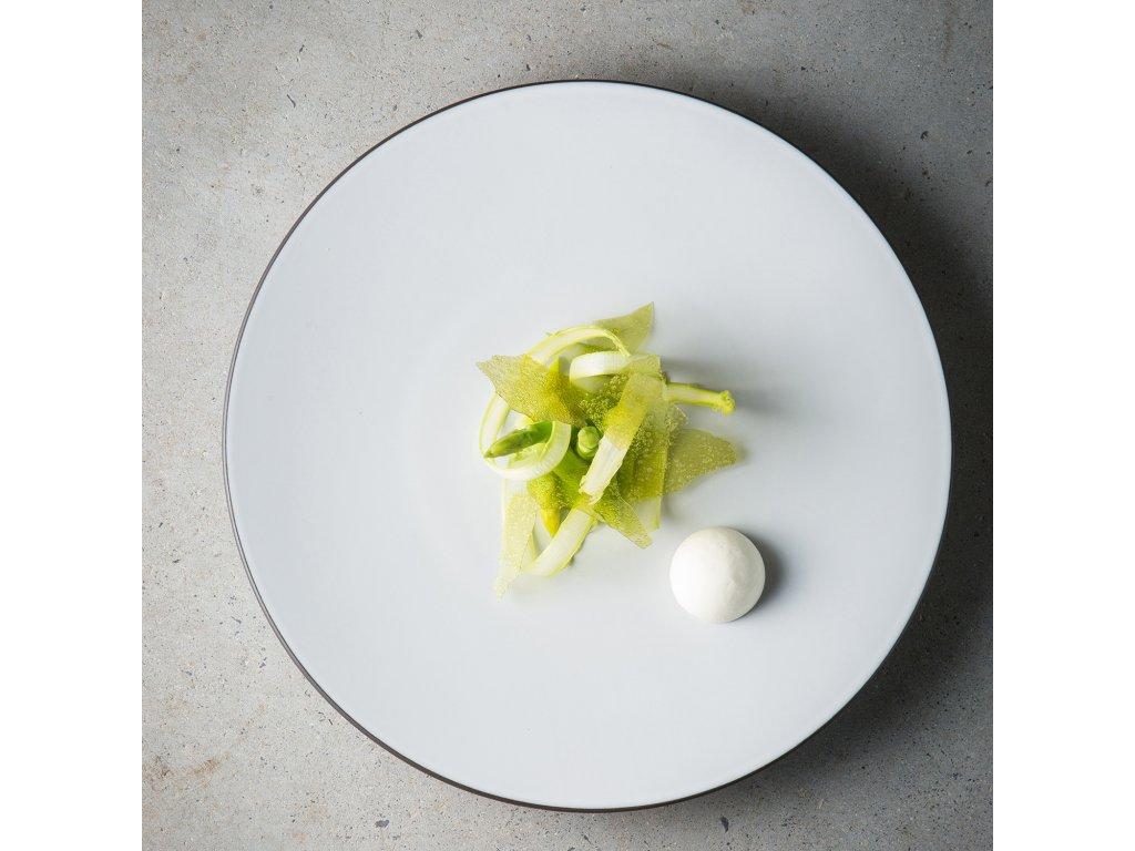 Talíř na hlavní chod O 28 cm White Cumulus Equinoxe REVOL