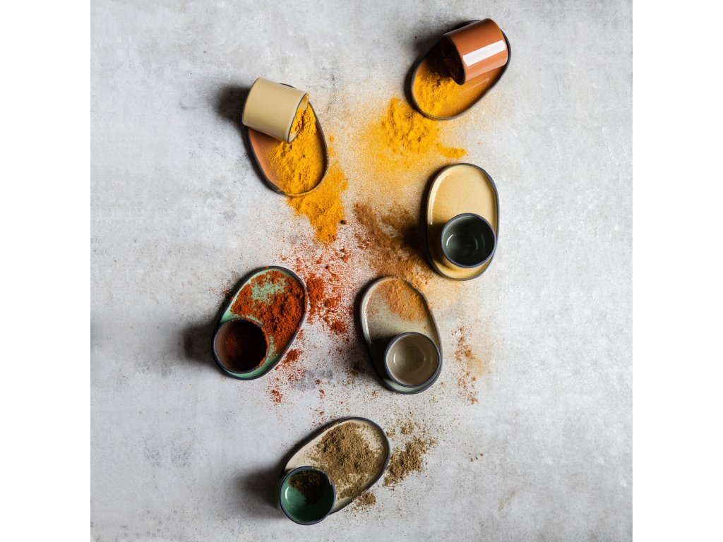 Kelímek na kávu/čaj muškátový Nutmeg CARACTERE REVOL
