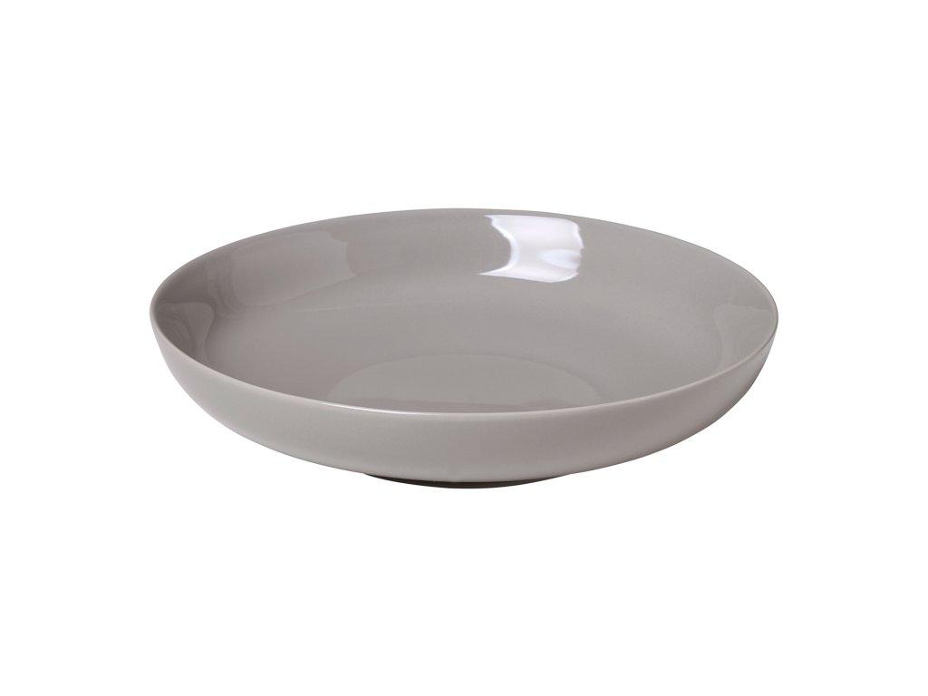 Hluboký talíř RO šedý