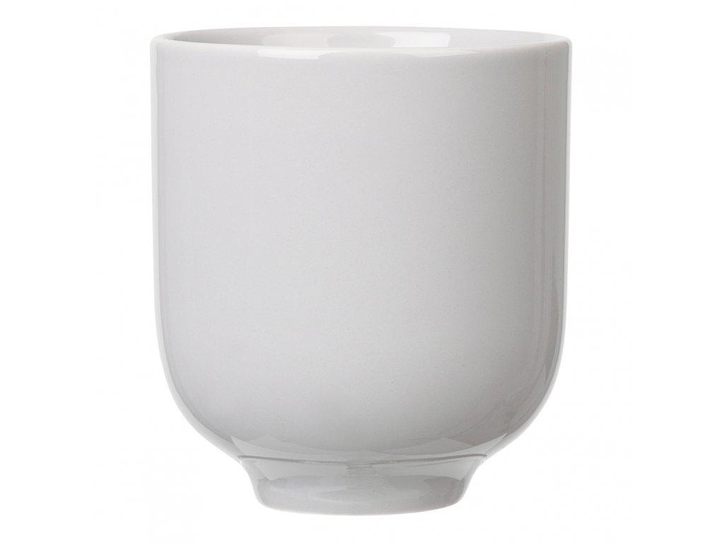 Pohárek na čaj RO světle šedý