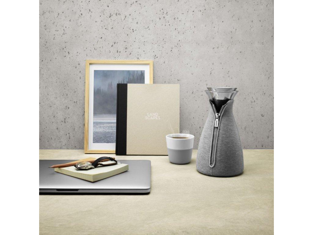 Kávovar CafeSolo 1,0 l světle šedý Eva Solo